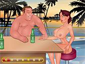 borracha-juegos-porno Litros de Cerveza
